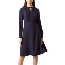 Buy Hobbs Angelica Dress, Ink Online at johnlewis.com