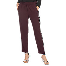 Buy Whistles Elyse Side Stripe Trousers Online at johnlewis.com
