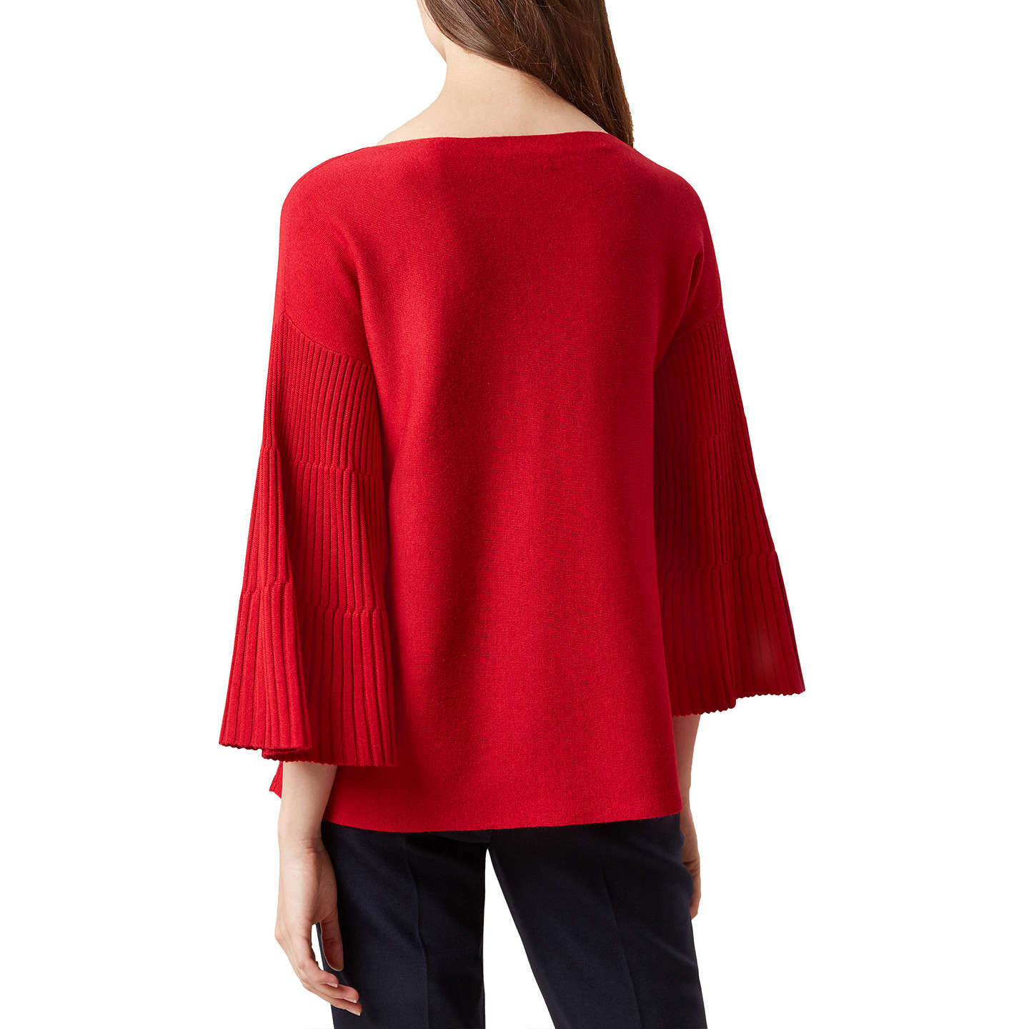 BuyHobbs Betty Jumper, Highland Red, XS Online at johnlewis.com