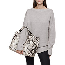 Buy Reiss Orla Wide Neck Jumper Online at johnlewis.com