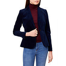 Buy Hobbs Joella Jacket, Storm Blue Online at johnlewis.com