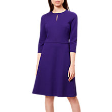Buy Hobbs Anais Dress, Royal Purple Online at johnlewis.com