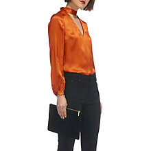 Buy Whistles Carolina Silk Satin Blouse Online at johnlewis.com