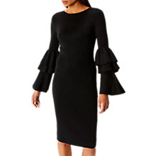 Buy Coast Alessa Sparkle Knit Dress, Black Online at johnlewis.com