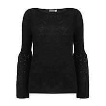 Buy Mint Velvet Sequin Sleeve Knit Jumper Online at johnlewis.com