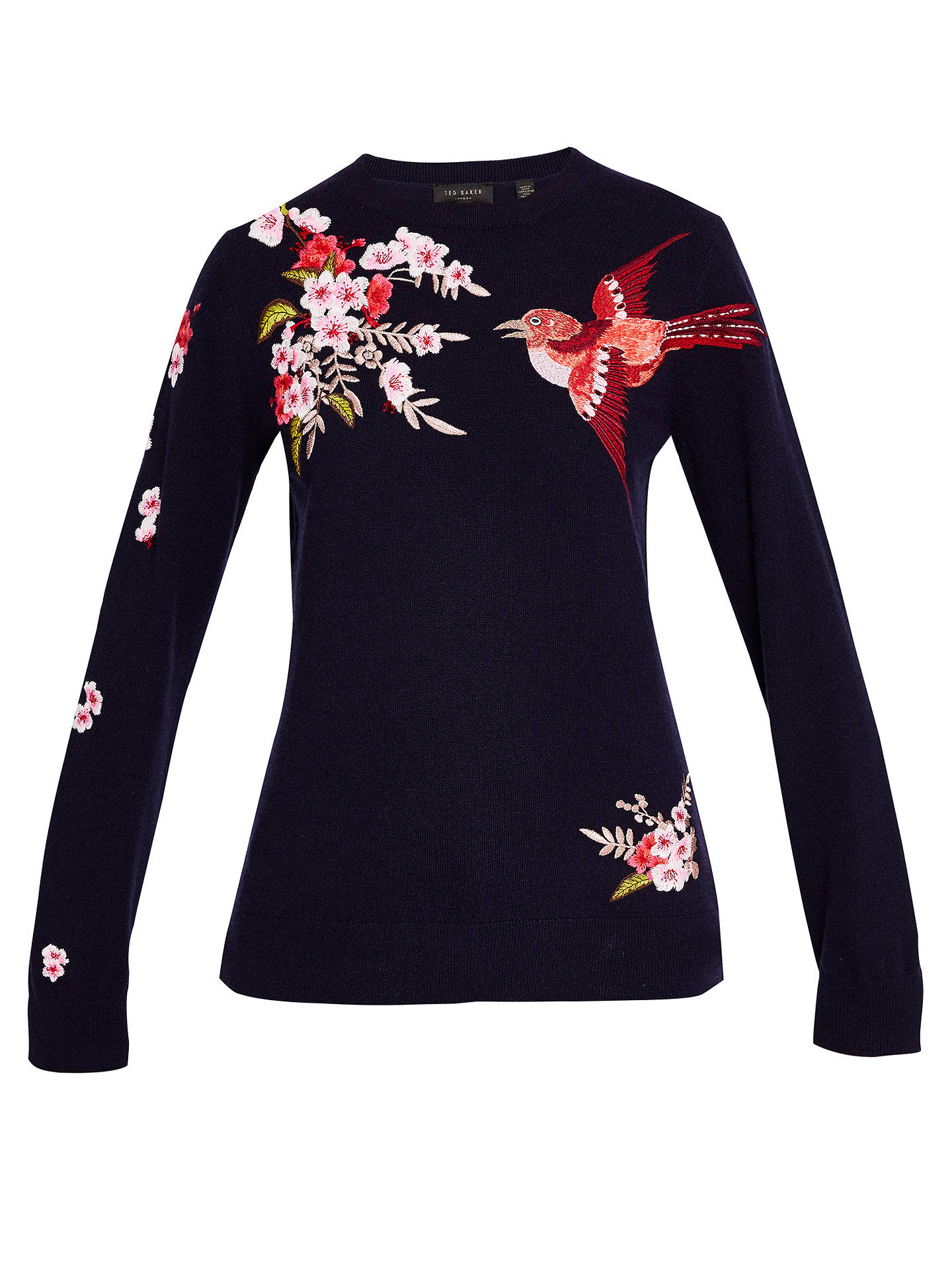 65c306cb0 ... Buy Ted Baker Auroraa Bird Blossom Embroidered Jumper