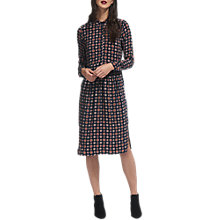 Buy Whistles Courtney Tile Print Dress, Multi Online at johnlewis.com