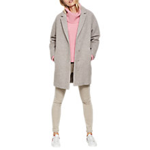 Buy Mint Velvet Easy Coat, Oatmeal Online at johnlewis.com