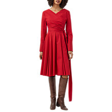 Buy Finery Streatley Wrap Dress, Red Online at johnlewis.com