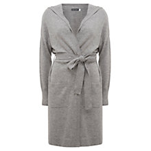 Buy Hygge by Mint Velvet Cashmere Cardigan, Light Grey Online at johnlewis.com