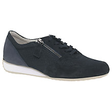 Buy Gabor Maybelle Wide Fit Lace Up Trainers Online at johnlewis.com