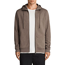 Buy AllSaints Lutra Cotton Hoodie Online at johnlewis.com