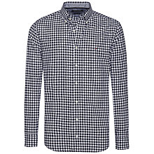 Buy Tommy Hilfiger Gingham Long Sleeve Shirt, Black/White Online at johnlewis.com