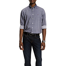 Buy Tommy Hilfiger Two Tone Dobby Shirt Online at johnlewis.com