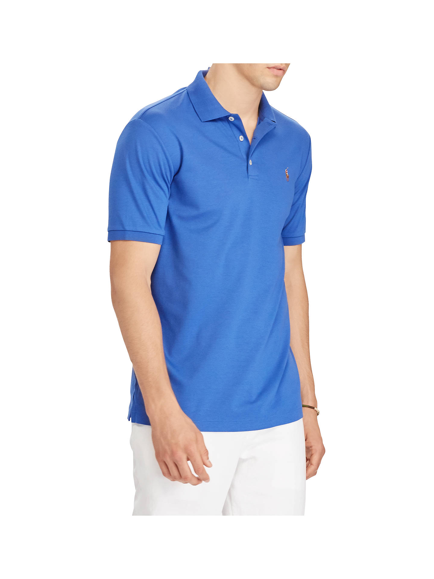e0ed5333bf Polo Ralph Lauren Slim Fit Soft Touch Polo Shirt at John Lewis ...