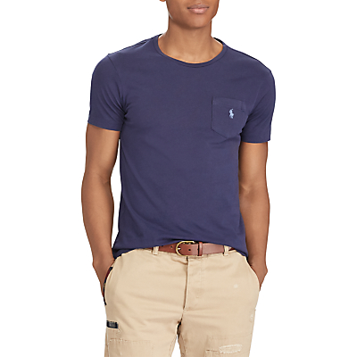 Product photo of Polo ralph lauren custom fit pocket tshirt