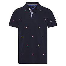 Buy Tommy Hilfiger Amos Slim Fit Polo Shirt, Navy Online at johnlewis.com