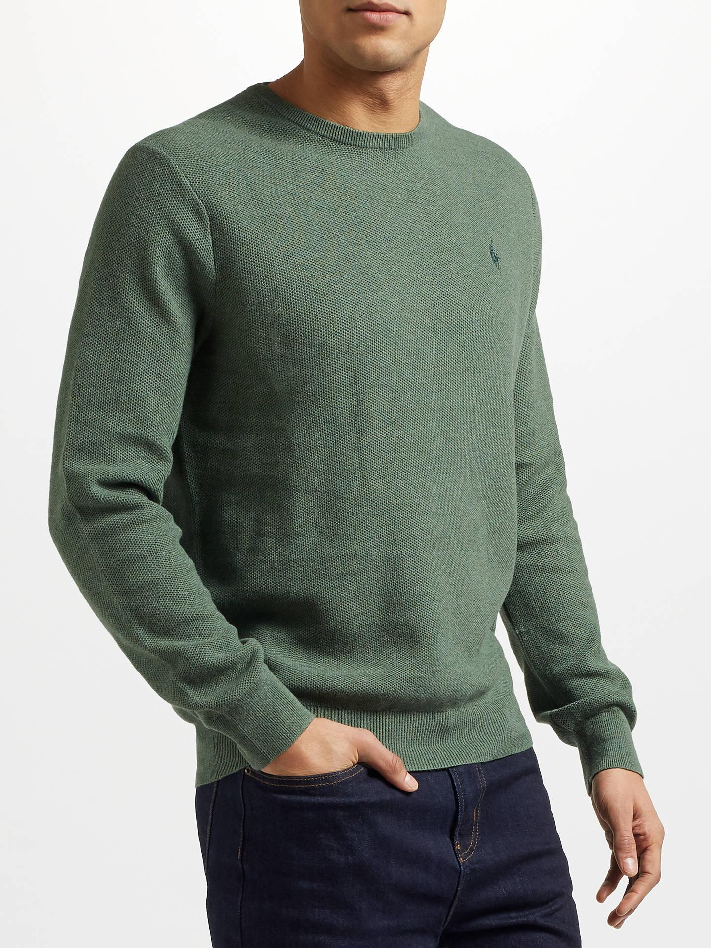 61acfbfa5eab Buy Polo Ralph Lauren Pima Cotton Crew Neck Sweatshirt