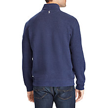 ... Buy Polo Ralph Lauren Reversible Long Sleeve Half Zip Jumper Online at  johnlewis.com