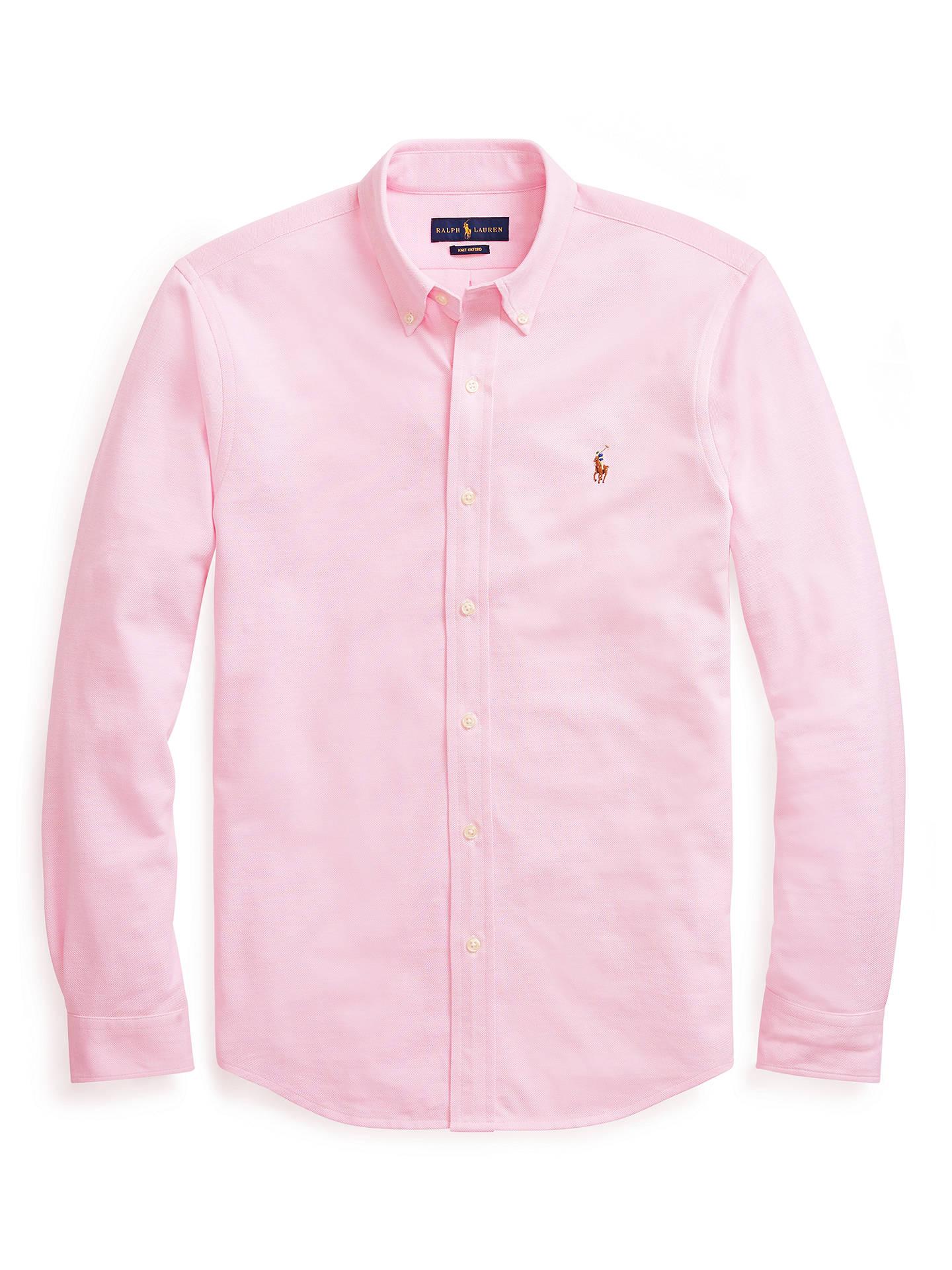 fc0cbfa57ab81 Polo Ralph Lauren Custom Fit Oxford Shirt at John Lewis   Partners