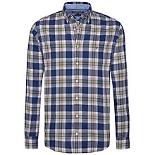 Buy Tommy Hilfiger Zac Check Print Shirt, Multi Online at johnlewis.com