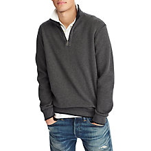 Buy Polo Ralph Lauren Reversible Long Sleeve Half Zip Jumper Online at johnlewis.com