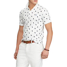Buy Polo Ralph Lauren Slim Fit Printed Polo Top Online at johnlewis.com