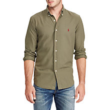 Buy Polo Ralph Lauren Cotton Oxford Slim Fit Shirt Online at johnlewis.com
