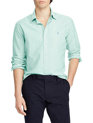 At Polo Ralph Slim Lauren Oxford Fit ShirtBayside Green John Lewis lFK1JTc