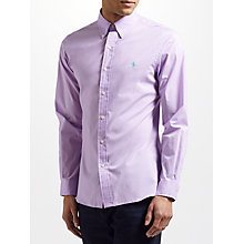 Buy Polo Ralph Lauren Slim Cotton Poplin Shirt Online at johnlewis.com