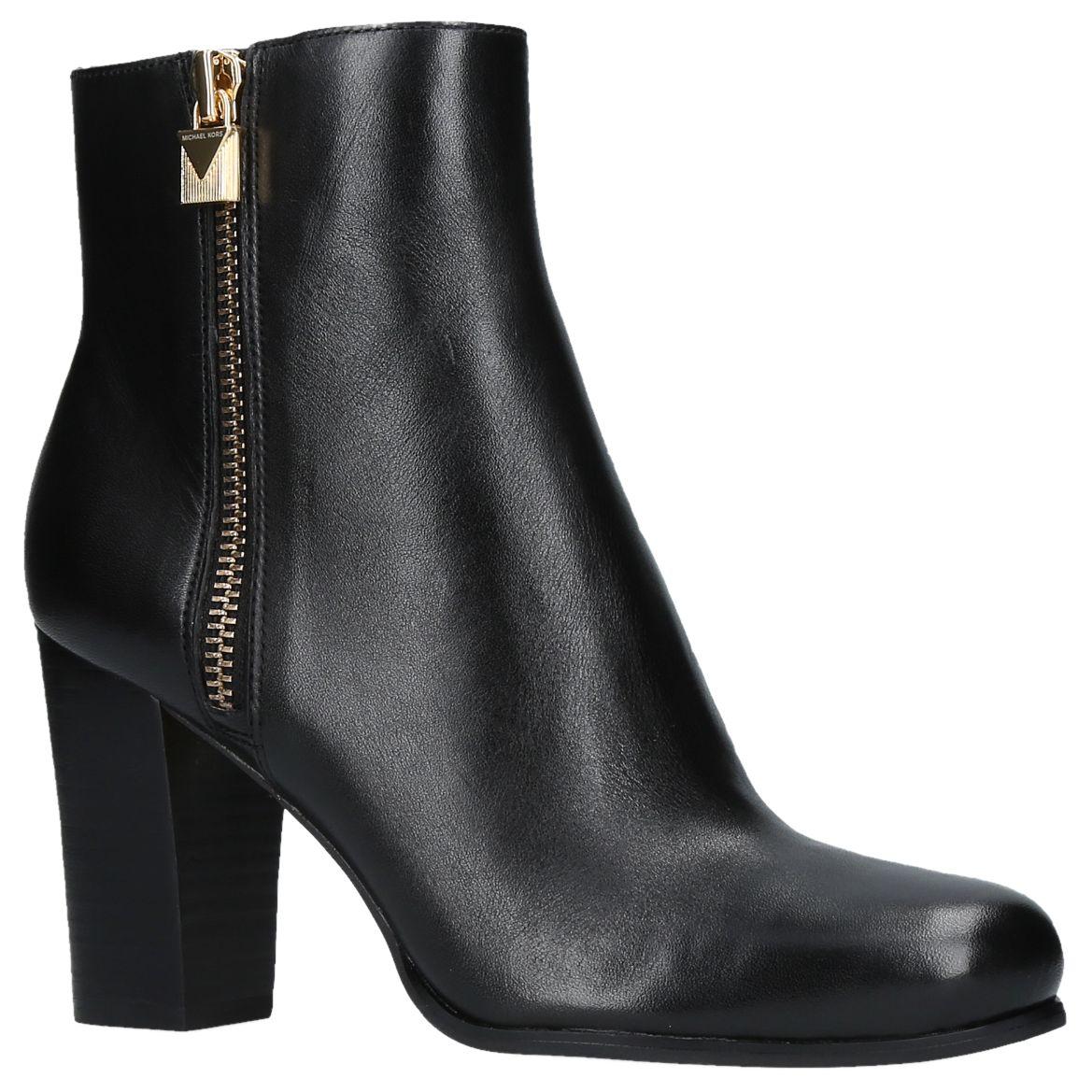 2e7544749ee7 MICHAEL Michael Kors Margaret Block Heel Ankle Boots at John Lewis    Partners