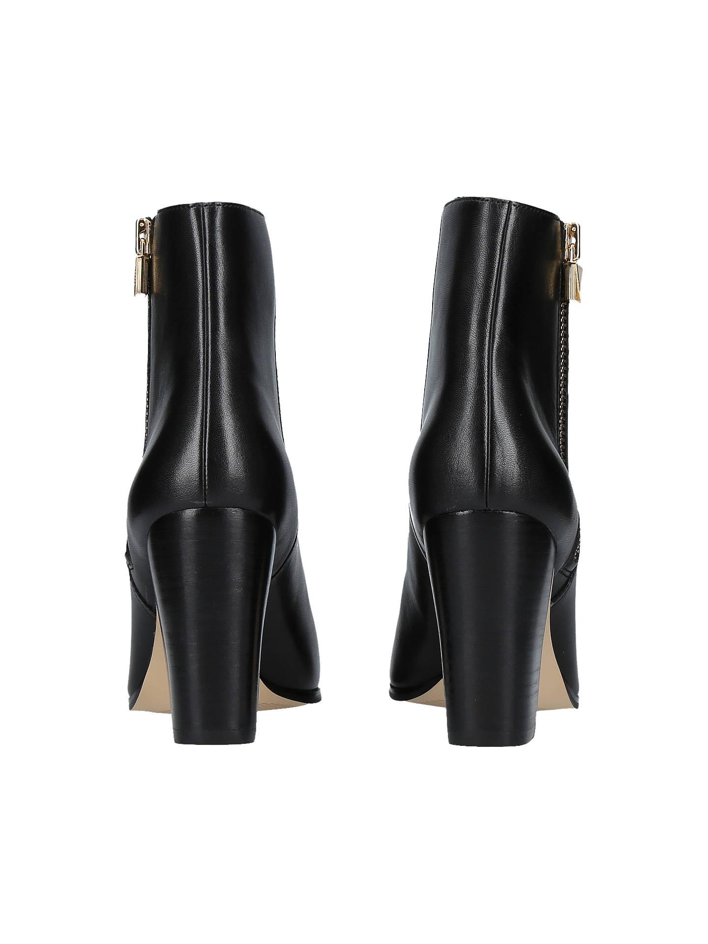 eb7a2f78e4a6 MICHAEL Michael Kors Margaret Block Heel Ankle Boots at John Lewis ...