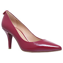 Buy MICHAEL Michael Kors Flex Pump Kitten Heel Court Shoes, Red Online at johnlewis.com
