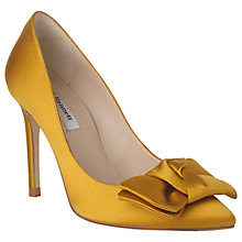 Buy L.K. Bennett Aine Bow Stiletto Heeled Court Shoes Online at johnlewis.com