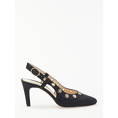 John Lewis Alex Eyelet Court Shoes