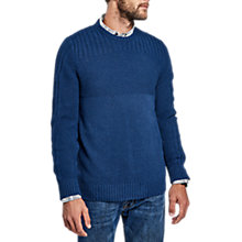 Buy Barbour International Outlaw Crew Neck Jumper, Indigo Online at johnlewis.com