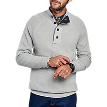 Buy Barbour International Capacitor Half Button Jumper, Light Grey Marl Online at johnlewis.com