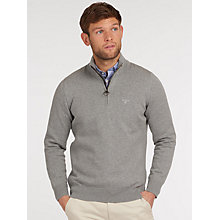 Buy Barbour Lifestyle Half Zip Jumper Online at johnlewis.com