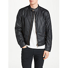 Buy Belstaff Kelland Wax Cotton Jacket, Dark Navy Online at johnlewis.com