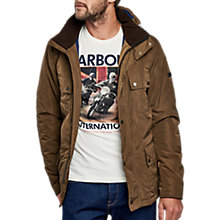 Buy Barbour International Roper Four Pocket Waterproof Jacket, Brown Online at johnlewis.com