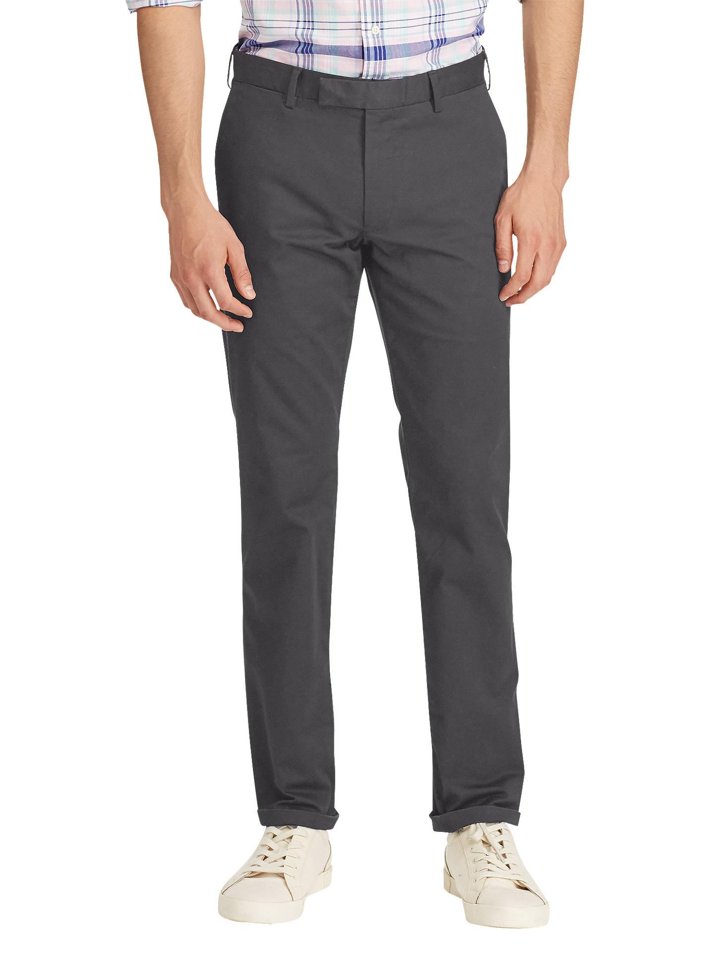 dc1f9c10 Polo Ralph Lauren Hudson Slim Fit Stretch Cotton Trousers at John ...