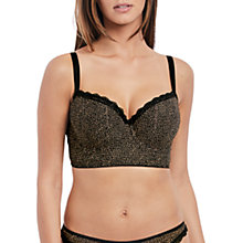 Buy Freya Summer Haze Longline Bra, Black/Multi Online at johnlewis.com
