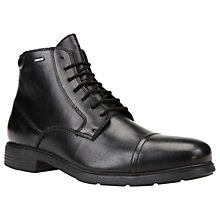 Buy Geox Dublin Amphibiox Waterproof Lace Up Leather Boots Online at johnlewis.com