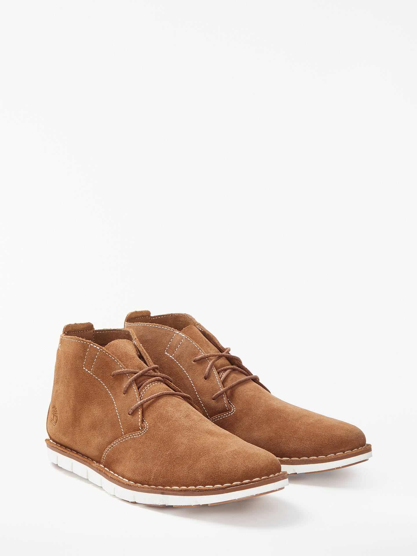 9f5b656196e Timberland Tidelands Suede Desert Boots, Brown at John Lewis & Partners