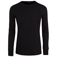 Buy Jockey Thermal Long Sleeve T-Shirt, Black Online at johnlewis.com