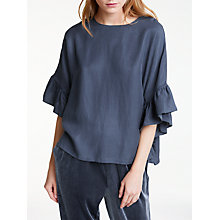 Buy Minimum Zita Blouse, Blue Online at johnlewis.com