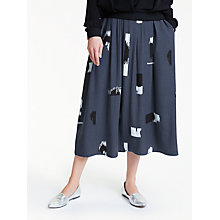 Buy Minimum Rosaura Skirt, Dark Blue Online at johnlewis.com