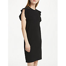 Buy Numph Aubree Jersey Dress, Caviar Online at johnlewis.com