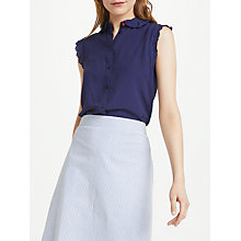 Buy Numph Bayleah Shirt, Blue Online at johnlewis.com