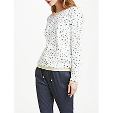 Buy Numph Beeja Sweater, Pristine White Online at johnlewis.com